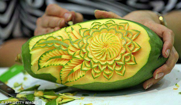 La d coration culinaire tout un art for Decoration de plat avec des legumes