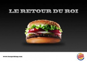 Burger King de retour en France