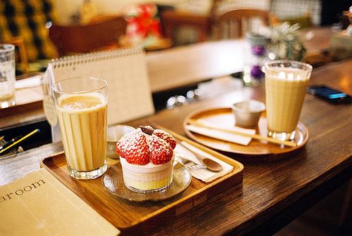 Cake et café